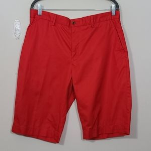 Polo By Ralph Lauren Men's Orange Short Size 33x12